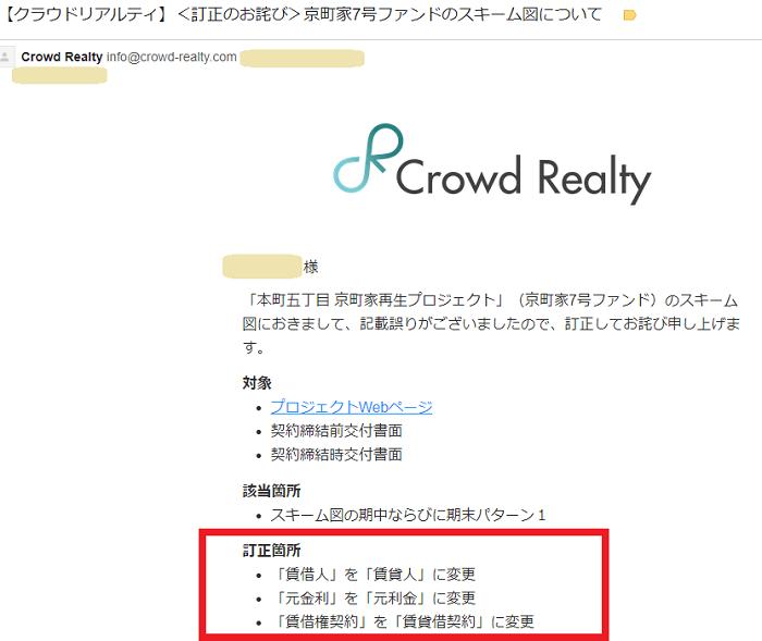クラウドリアルティ(Crowd Realty)teisei