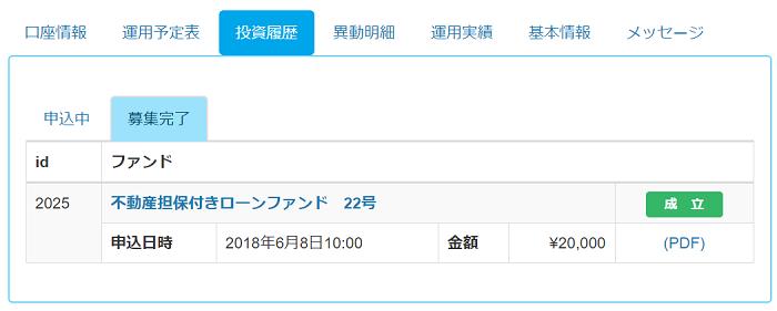 LENDEX投資申込完了01