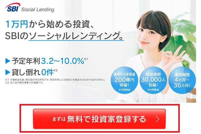 SBIソーシャルレンディングの投資口座開設時、手数料は無用です。