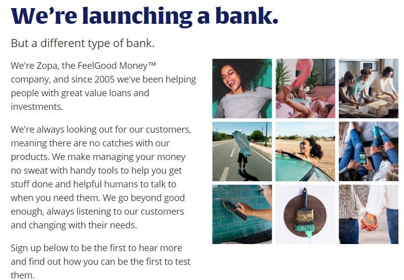 世界最古と言われているソーシャルレンディング事業者、zopaが、銀行設立