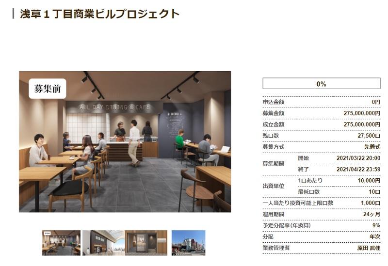 浅草1丁目商業ビルプロジェクト